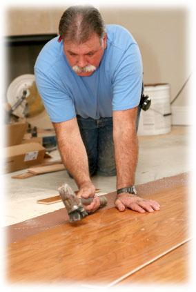 Pokládání laminátové podlahy