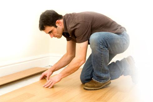 Pokládání plovoucích podlah