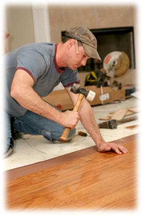 Pokládka plovoucí podlahy Domažlice