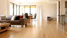 bambusové plovoucí podlahy